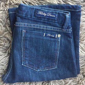 Fidelity jeans dark wash - size 26